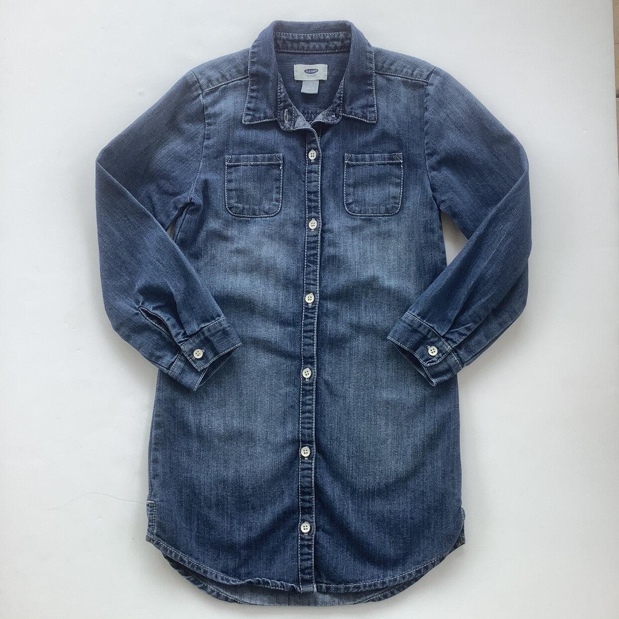 Old Navy Denim Shirt Dress