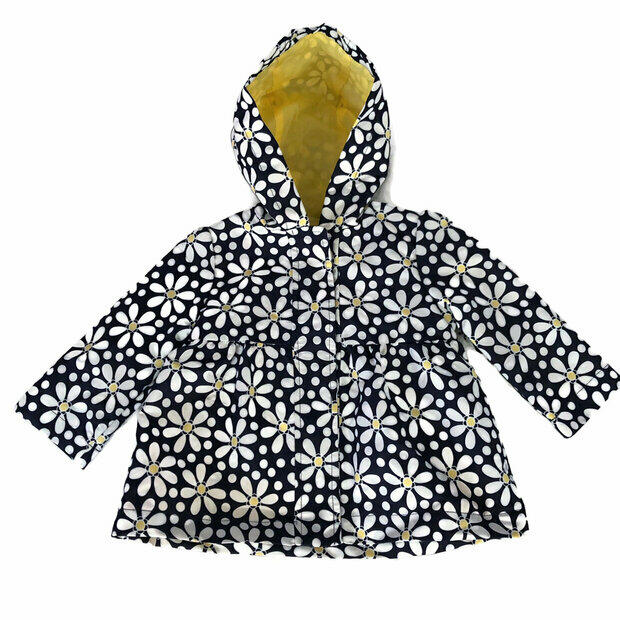 NWT GYMBOREE Girl/'s Gray Winter White Sherpa Jacket//Coat Size 18-24 months
