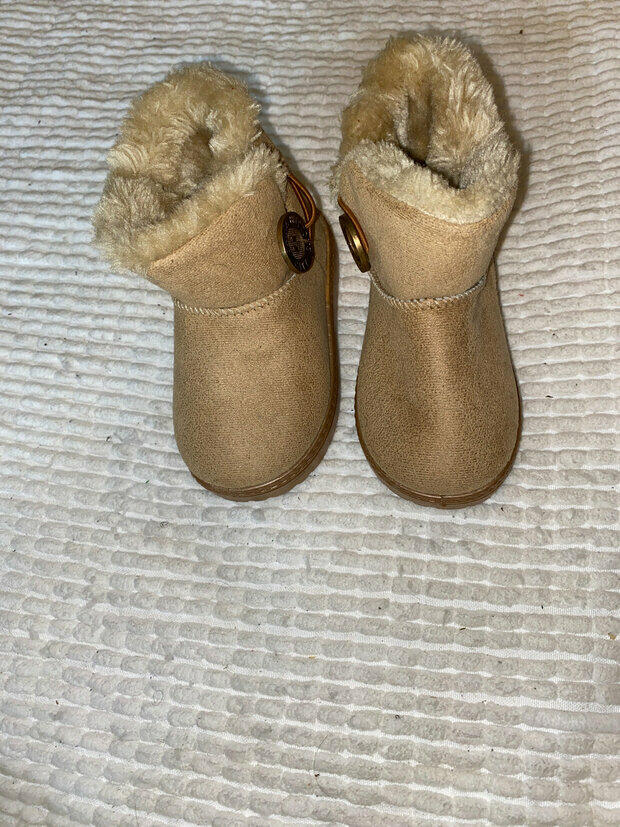 BENHERO Baby Girls Boys Warm Winter Anti-Skid Slip-on Outdoor Snow Boots Toddler//Little Kid