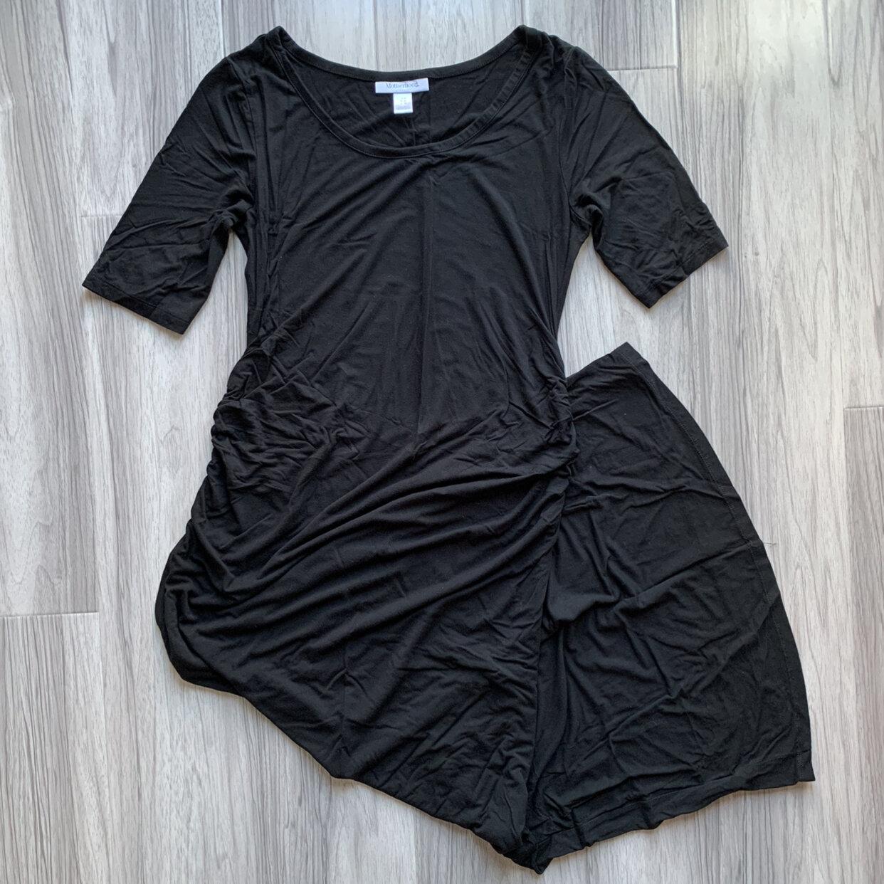 Motherhood Maternity Maxi Rayon Dress