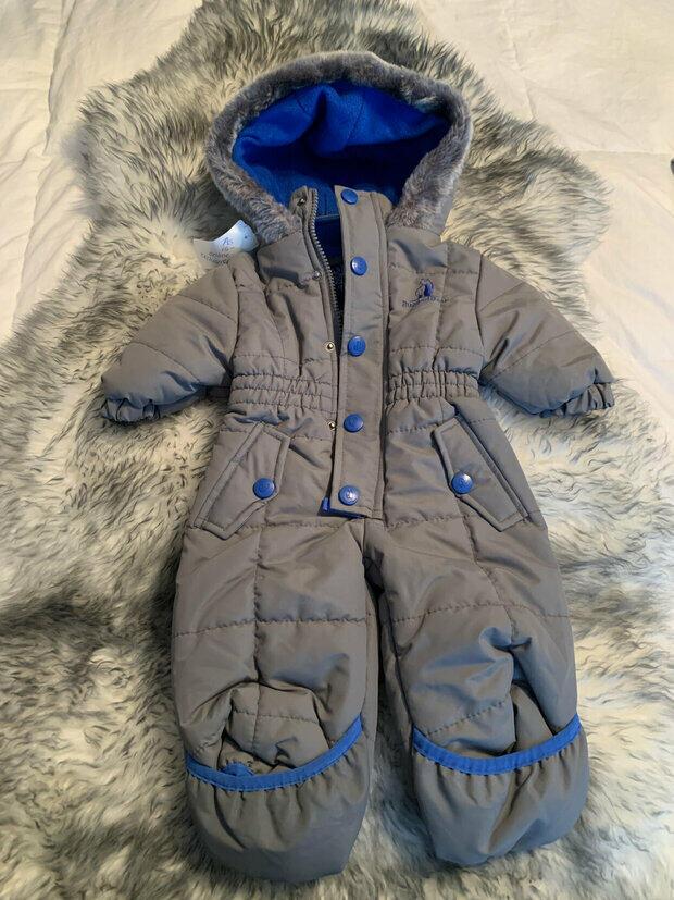 NAME IT Baby-M/ädchen Nitpowder Snowsuit Solid Mz B Fo Schneeanzug