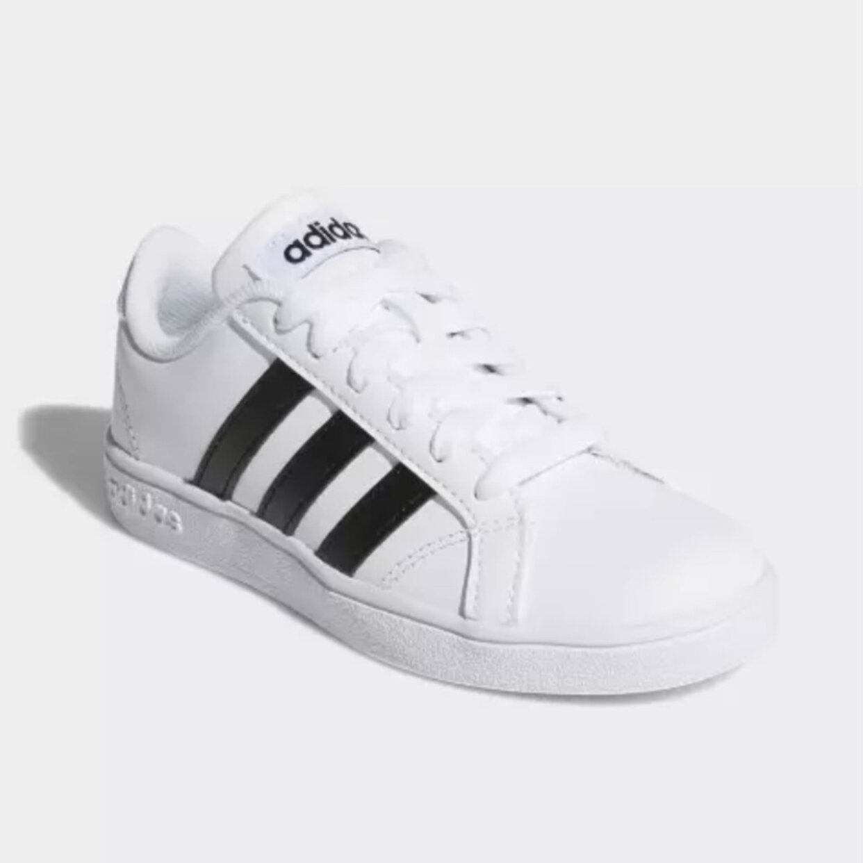adidas Neo Boys Baseline White Sneaker