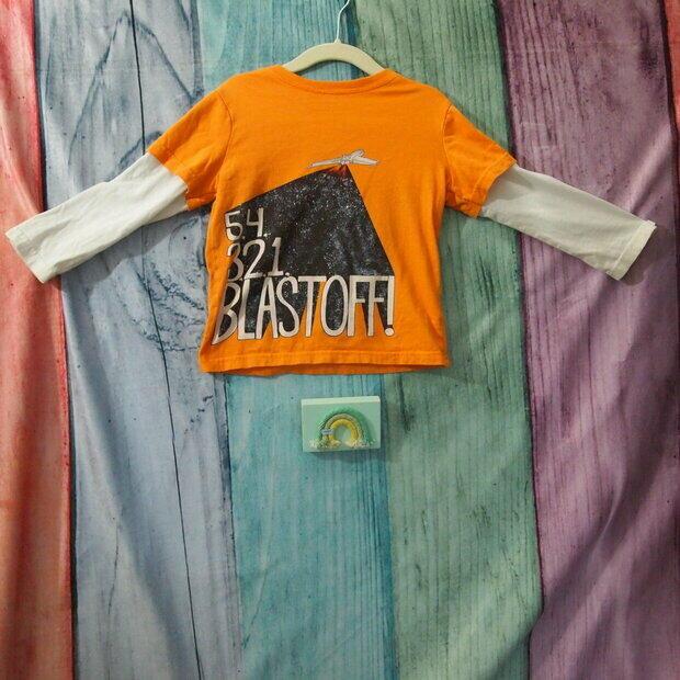 NWT Gymboree Boys Gray geo moto long sleeves top tee shirt 18 24 mos