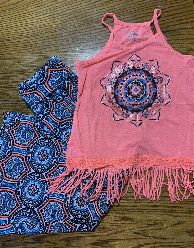 """Justice Size 14//16   """"Love Justice""""  Sleeveless Shirt W// Removable Straps Nwt"""