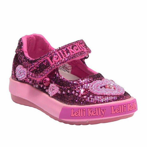 Lelli Kelly LK 5304 New Sprint Mary Jane in Fuchsia EU 24 Size US 7