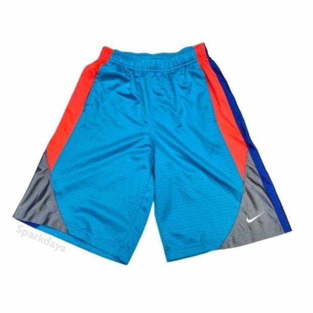 Magenta//Blue Dance Girls 2 Pack Velvet Activewear Shorts Large