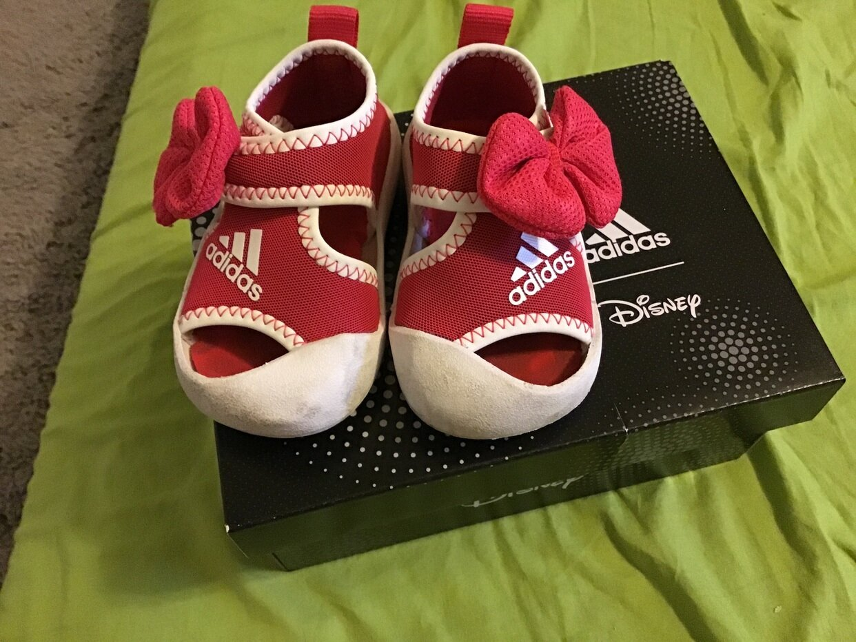 Adidas Disney baby girl shoes sandals