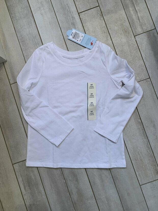Cat /& Jack Woodrose 5T #fp5 Toddler Girls/' Long Sleeve Sloth T-Shirt