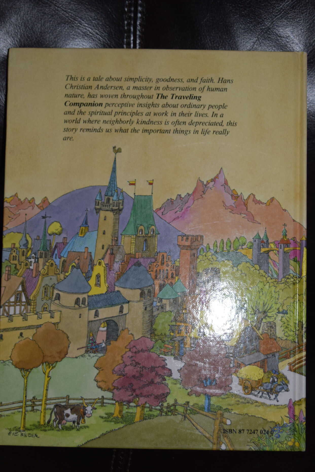 Traveling Companion Tales Of Hans Christian Andersen Hardcover W Study Key