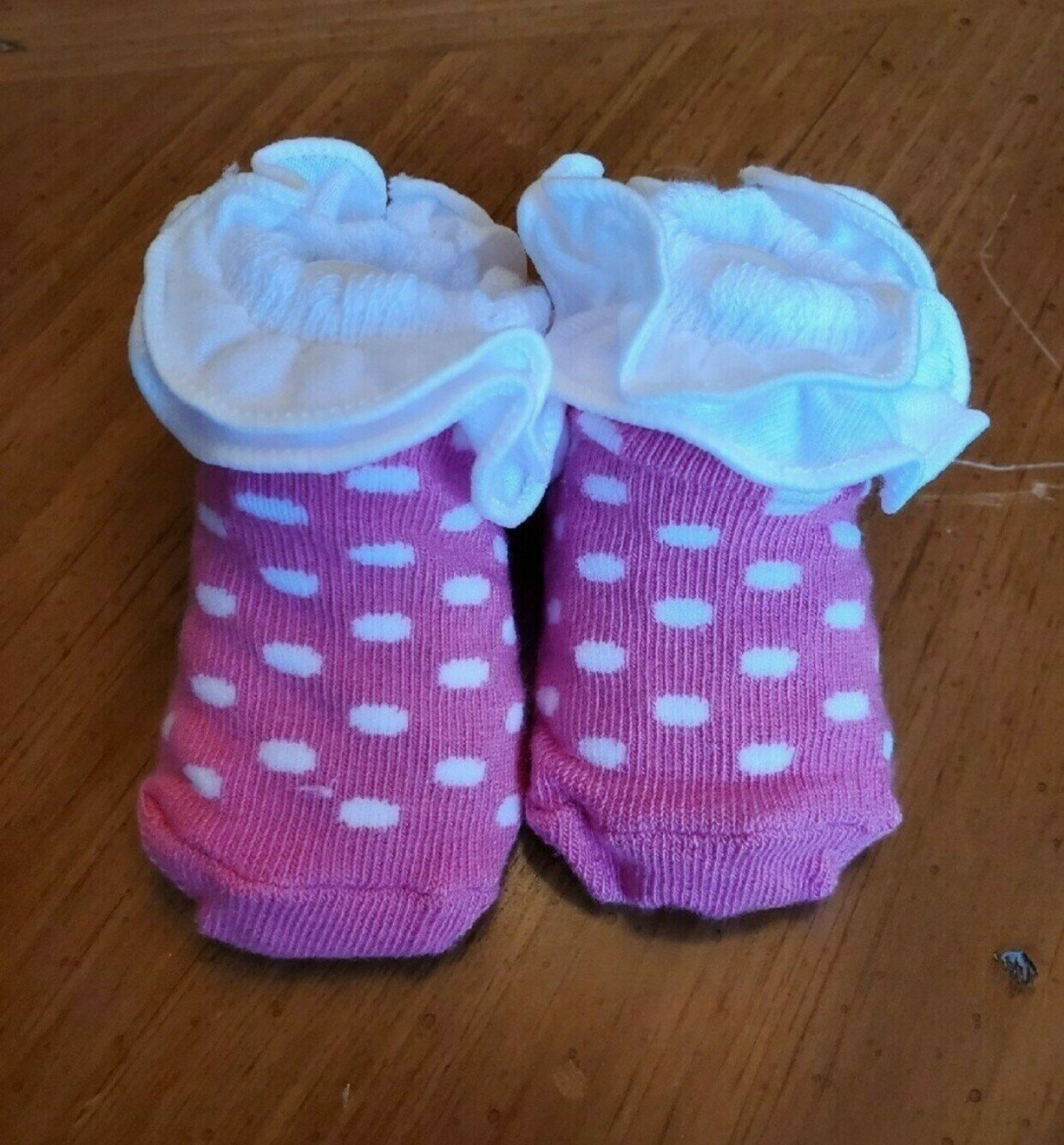 Socks for baby with message
