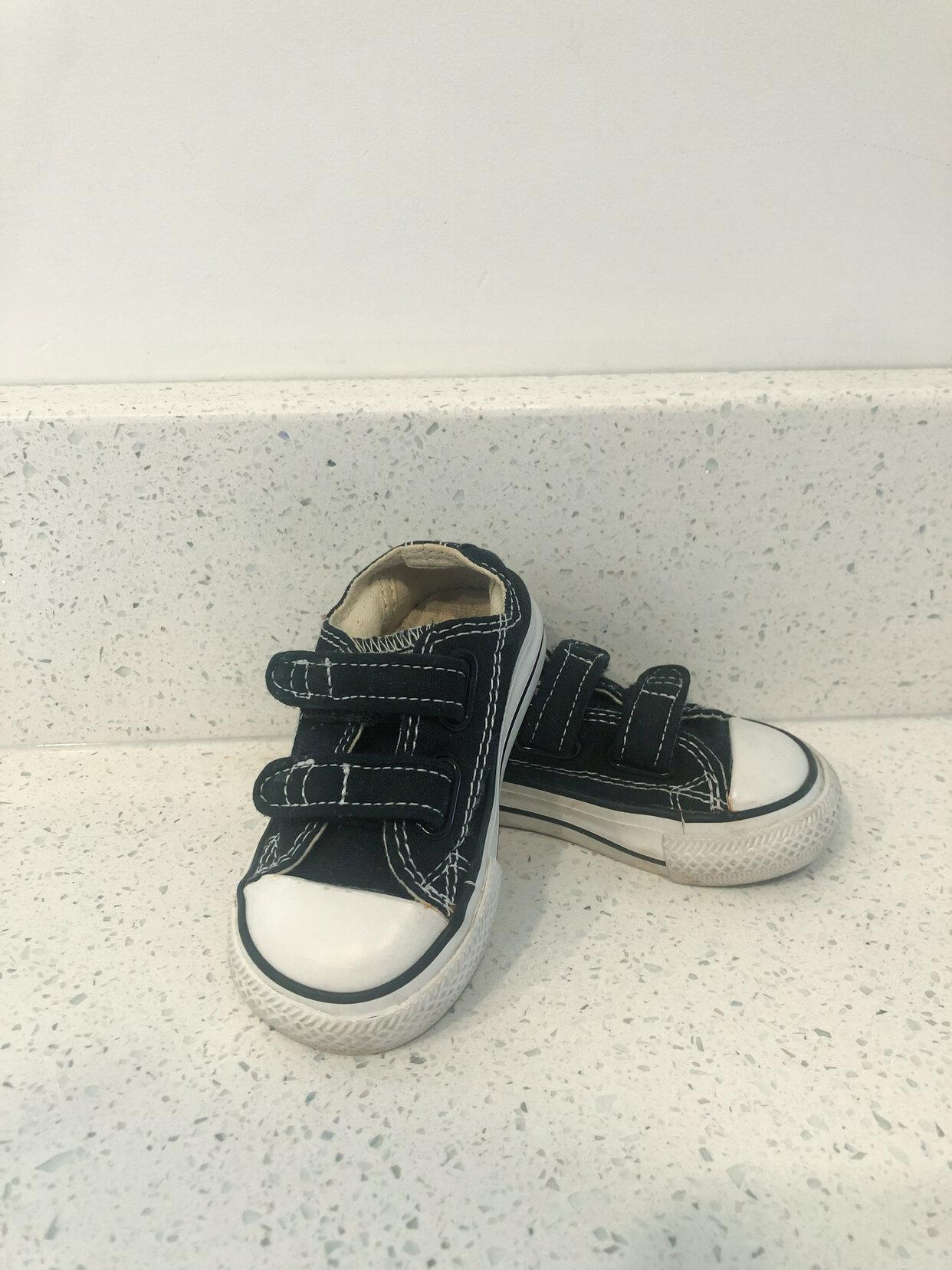 Converse velcro sneakers