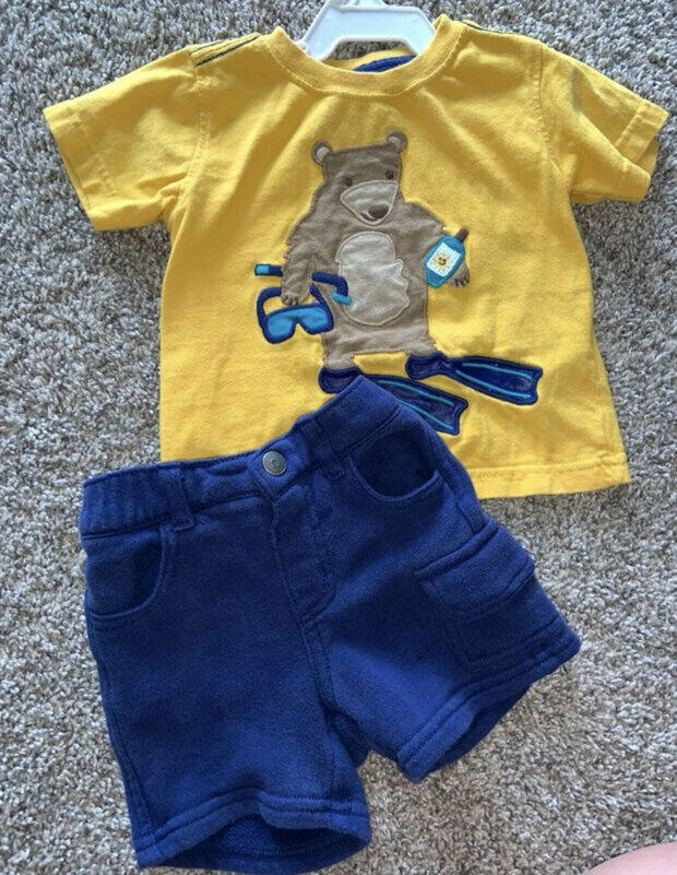 18-24 Months Blue White Toddler Jean Skirt Gymboree Baby Girl Infant Size 0-3
