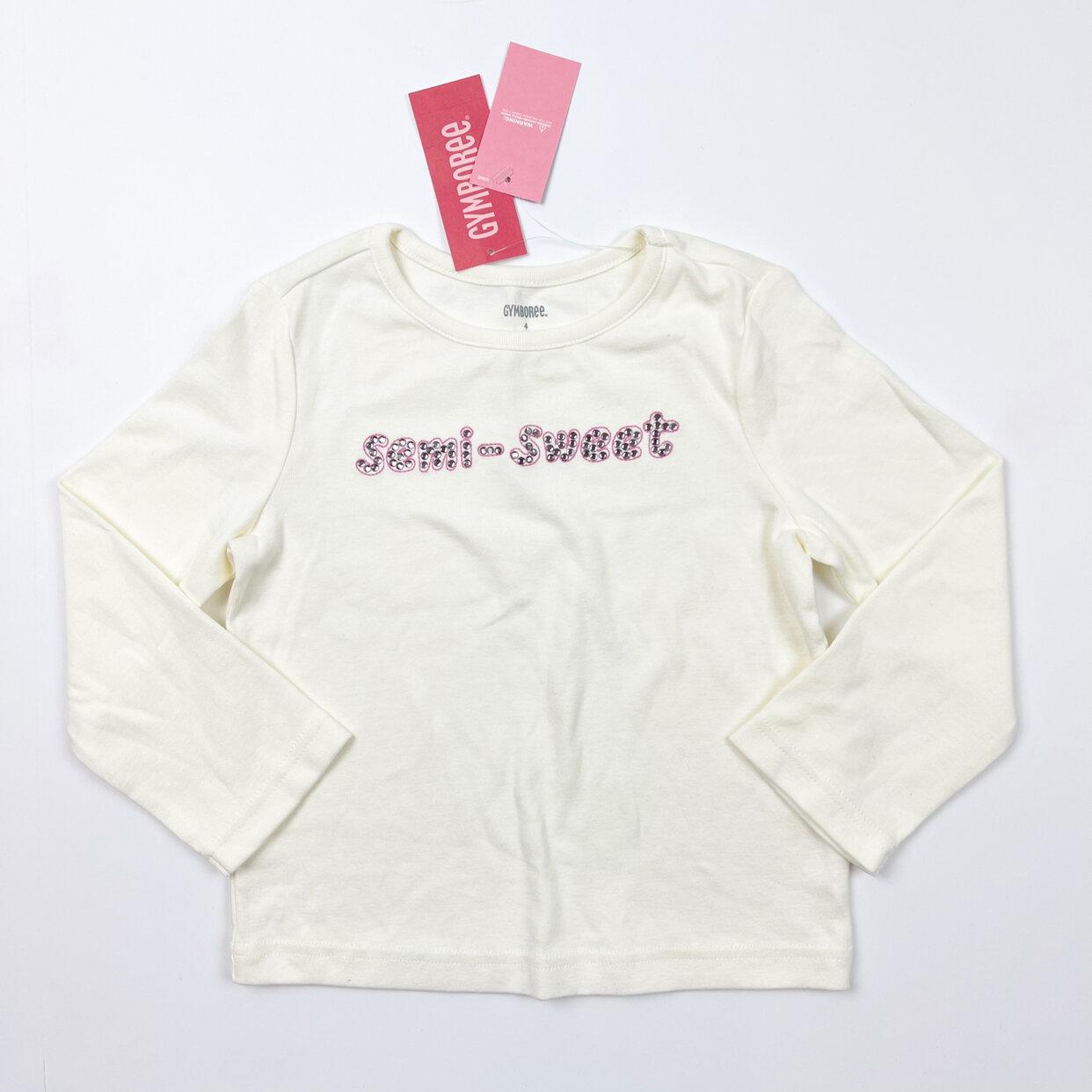 Gymboree Cream Long Sleeve Top