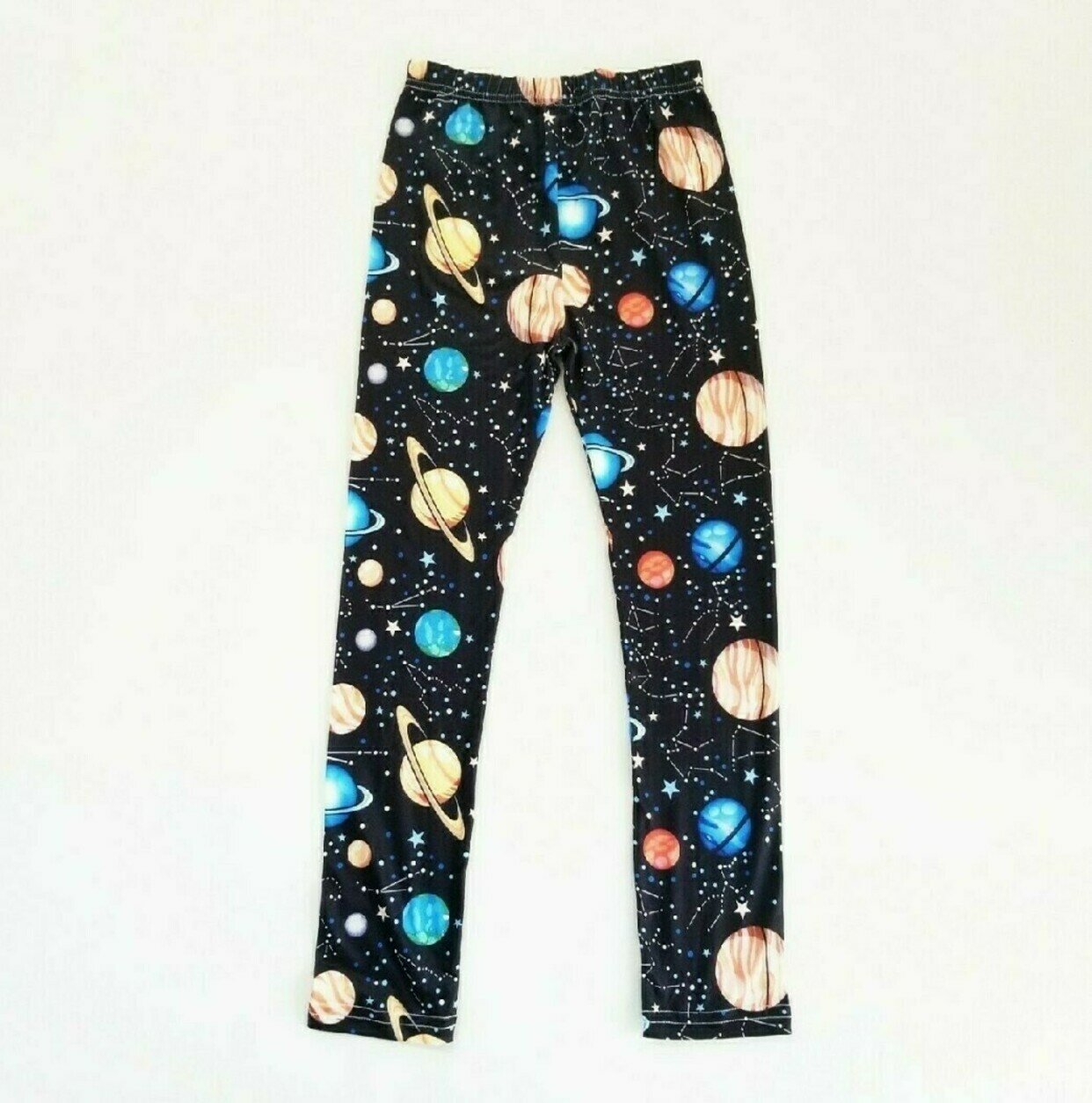 1 Dot = 10 Million Miles Measuring Planets by Chain of Being MiniVerse Leggings Blue Planet Leggings Proportional Distance Astronomy