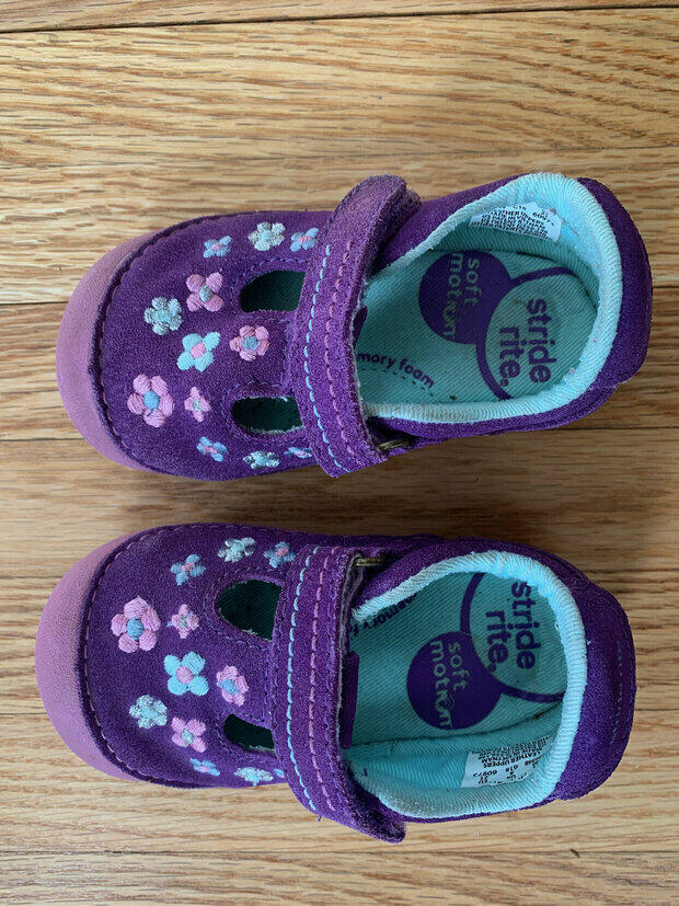 Stride Rite Soft Motion Baby and Toddler Girls Tonia Athletic Sneaker