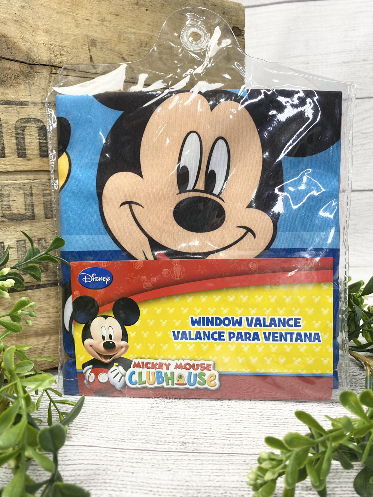 New Mickey Mouse Club House Valance