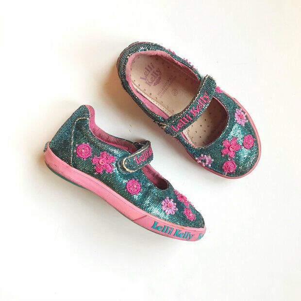 Lelli Kelly Colorissima Denim Blue Trainer Shoe SALE!! FINAL CLEARANCE