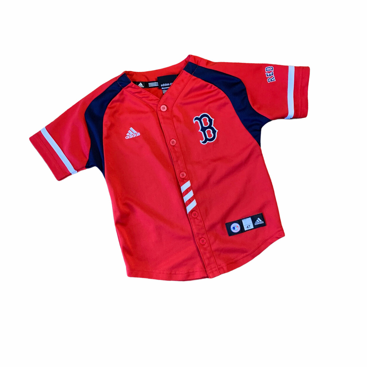 Adidas Boston Red Sox Jersey ⚾️ 4T