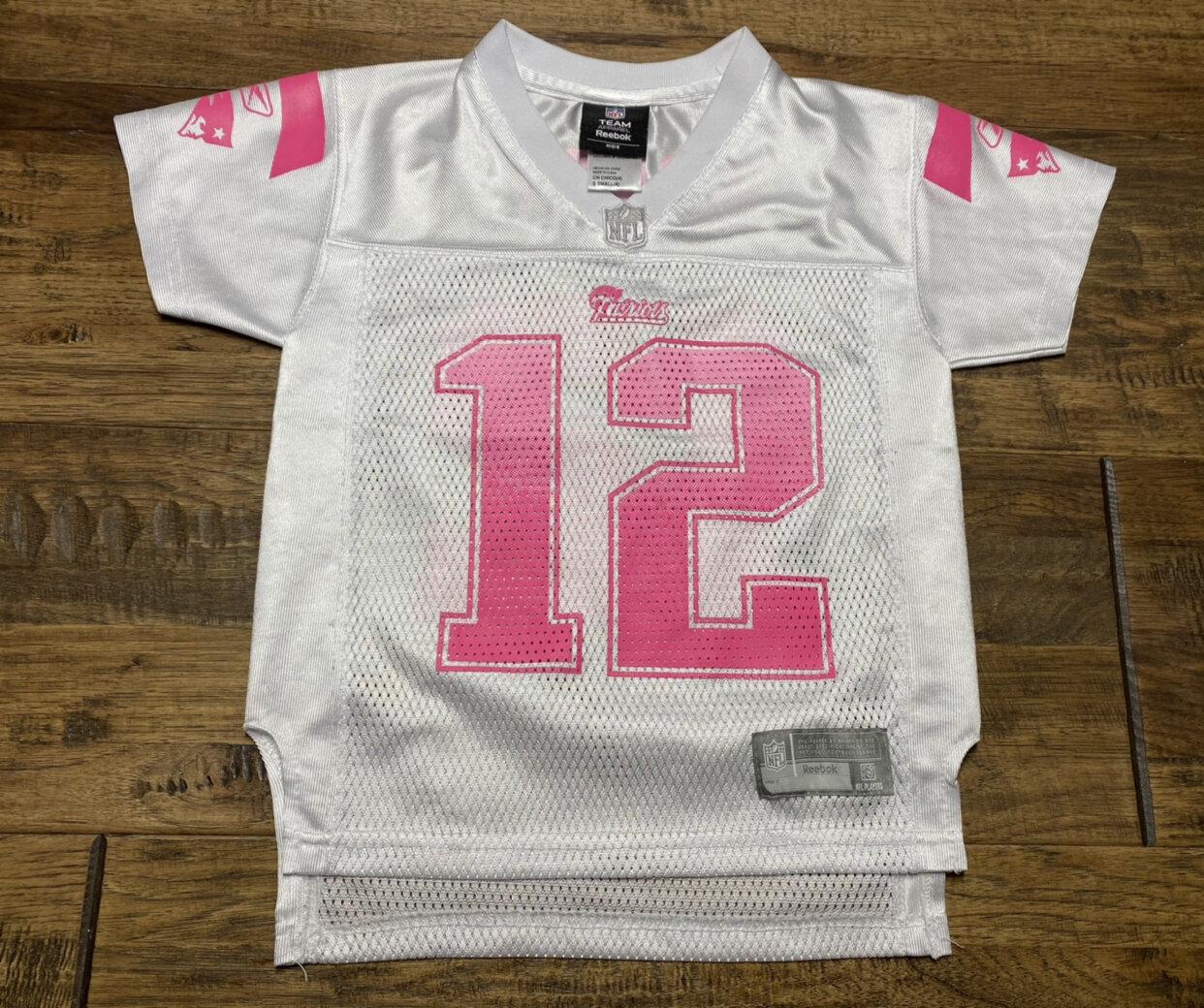 GUC Tom Brady Pink NFL Jersey