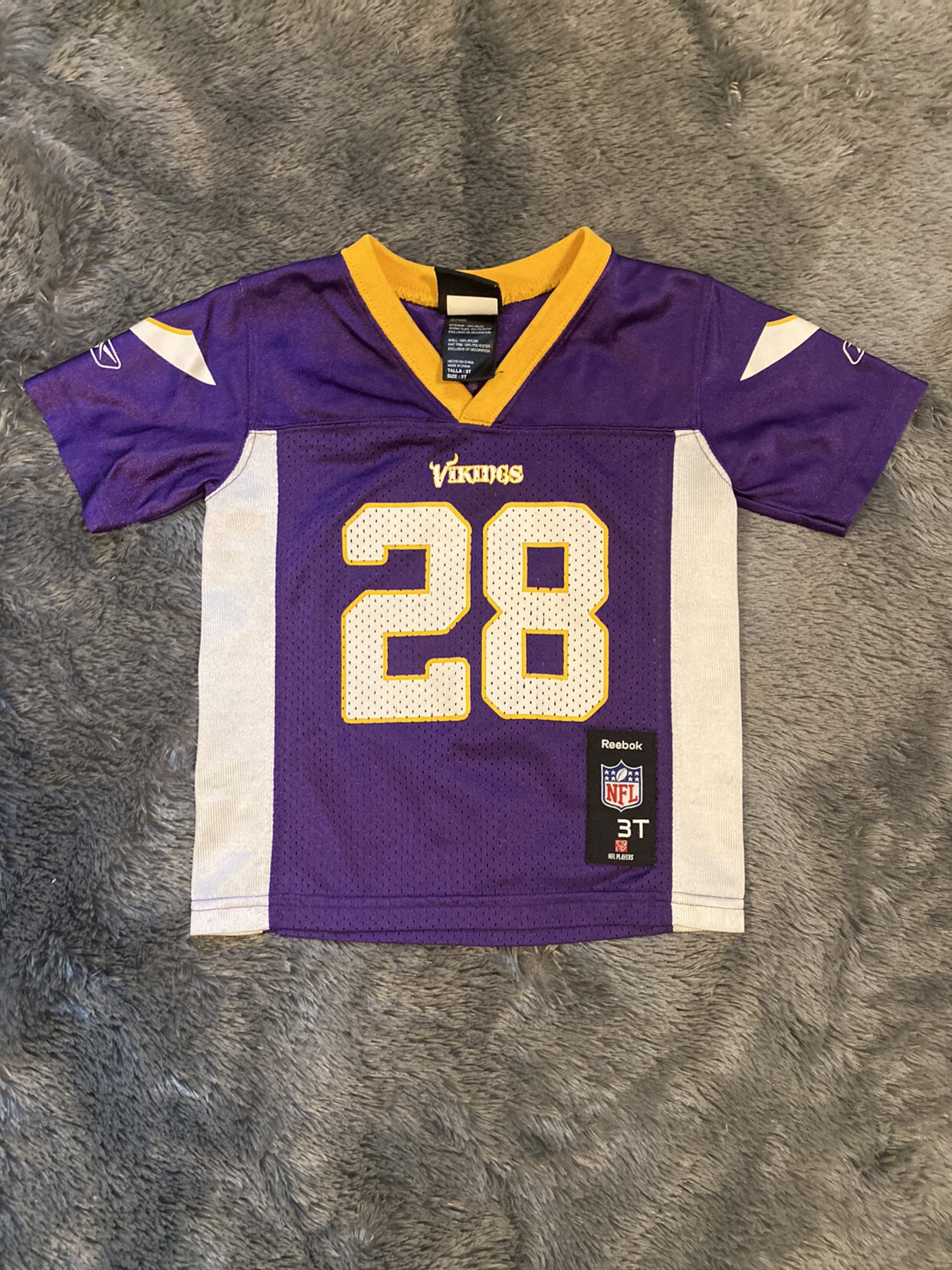 Minnesota Vikings Adrian Peterson Toddler Jersey