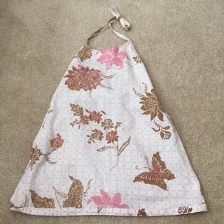 Etsy Resell Floral Halter Dress