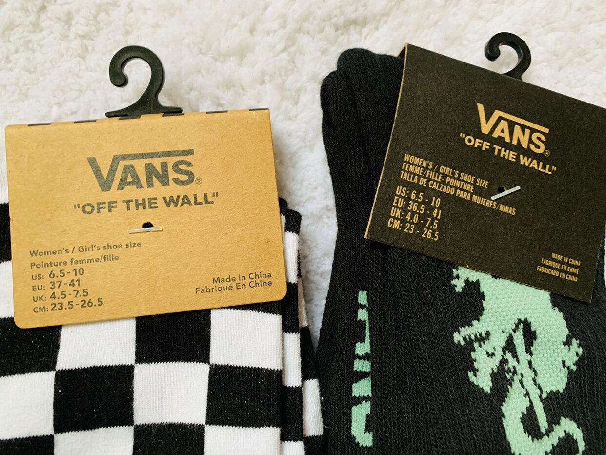 2 Pairs vans Socks