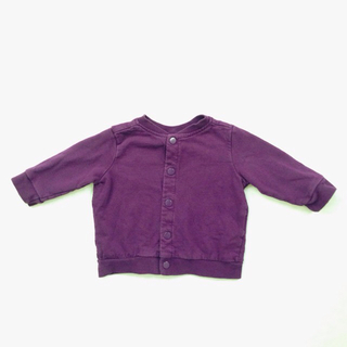 H&M Baby Eggplant Colored Snap Jacket
