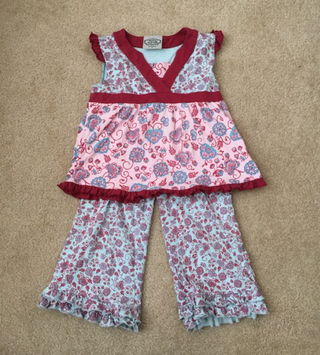 Flit And Flitter Tank And Pant Outfit