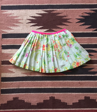 Ted Baker Floral Pleated Skirt