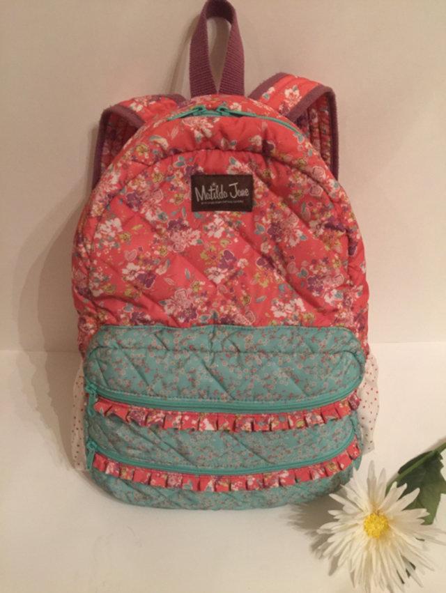Matilda Jane Backpack And Lunch Bag