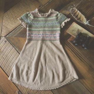 Ralph Lauren Fall Wool Sweater Dress