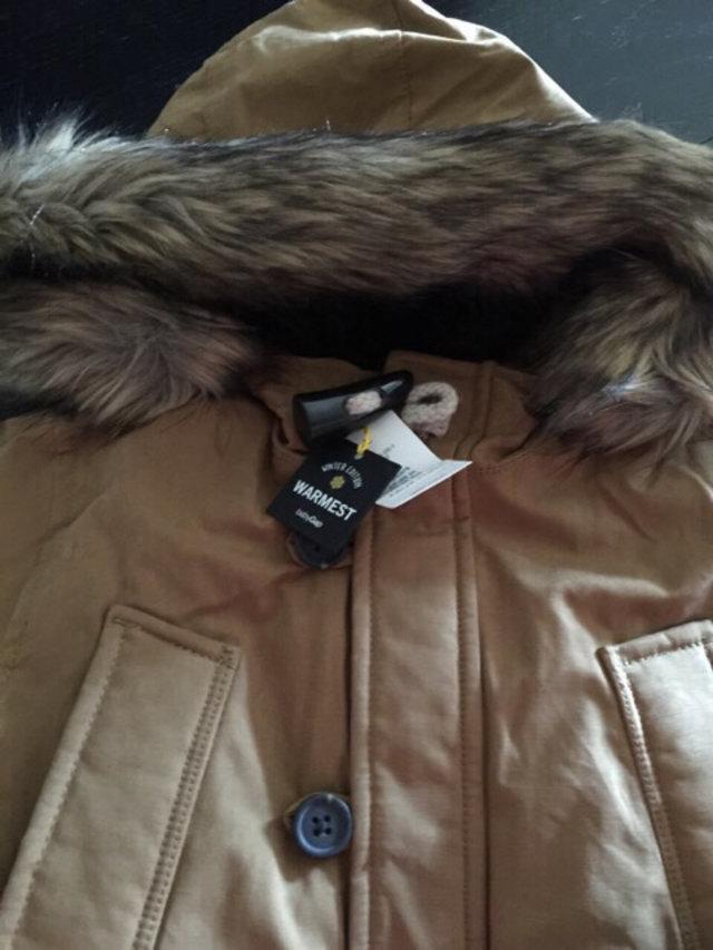 1bdaf2ea4 🚫Baby Gap Warmest Khaki Snorkel Jacket