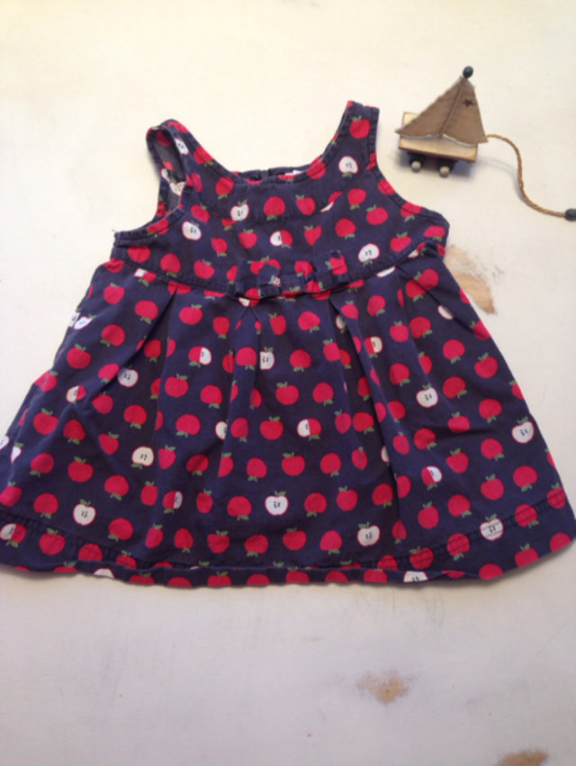 c941fbe912 Baby Gap Striped Sweater Dress W apple