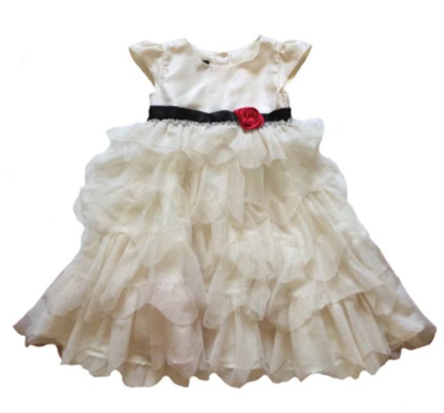 a4676d0dd59e Holiday Editions Cream Tulle Dress