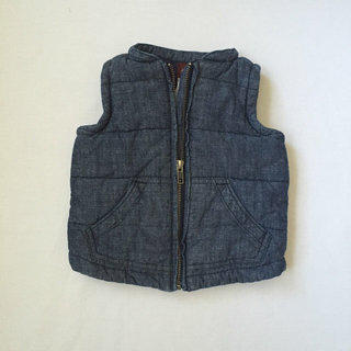 Tea Collection Chambray Baby Boy Vest
