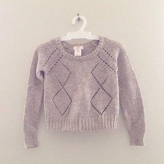 Joe fresh Neutral Girls Sweater