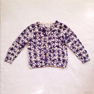 Crew Cuts Girls Star Cardigan Sweater