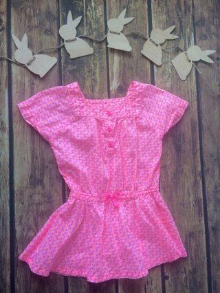 Bright Pink & Orange Tunic 5
