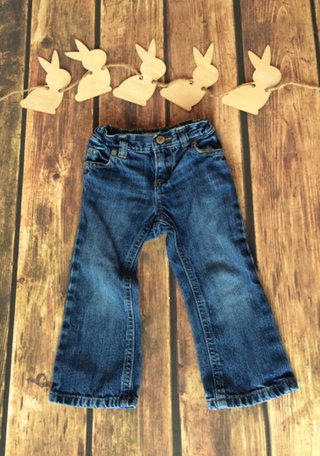 ON Boot Cut Blue Jeans 2T