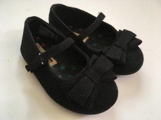 Smart Fit Black Dress Shoes