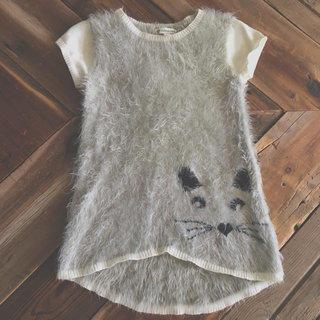 Tucker & Tate Furry Cat Dress