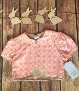 NWT Persnickety Pink Jacket Size 10
