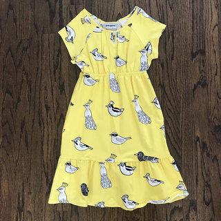 NWT Quinn & Fox Yellow Bird Maxi Dress