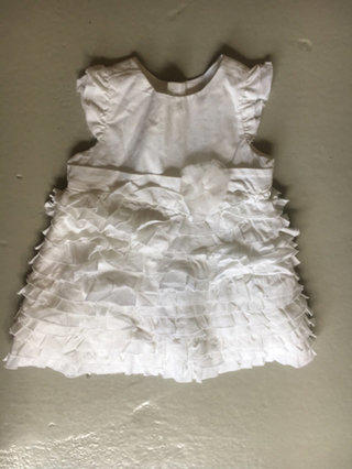 Children's Place White Dress 0-3 Mos