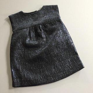Shimmery Black/blue/silver Dress