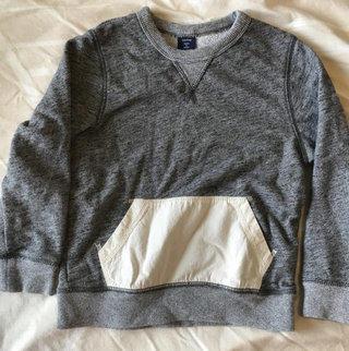 Heathered Gray Gap Pullover