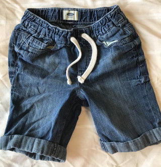 Pull On Jean Shorts