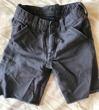 Dark Gray Cut Off Shorts