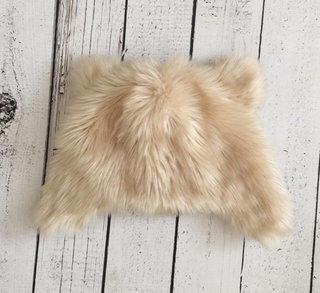 EUC Gap Fur Hat With Ears M/L