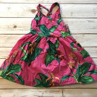 Tropical Print Dress Size 4/5